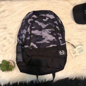 VS PINK black camo backpack